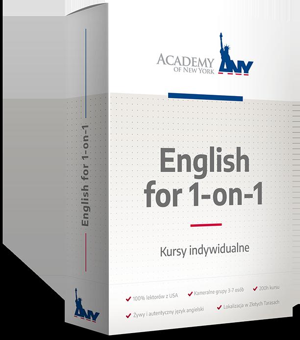 Kurs angielskiego: Indywidualny
