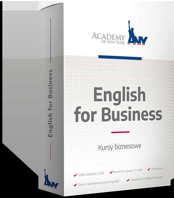 Kurs angielskiego: Angielski biznesowy
