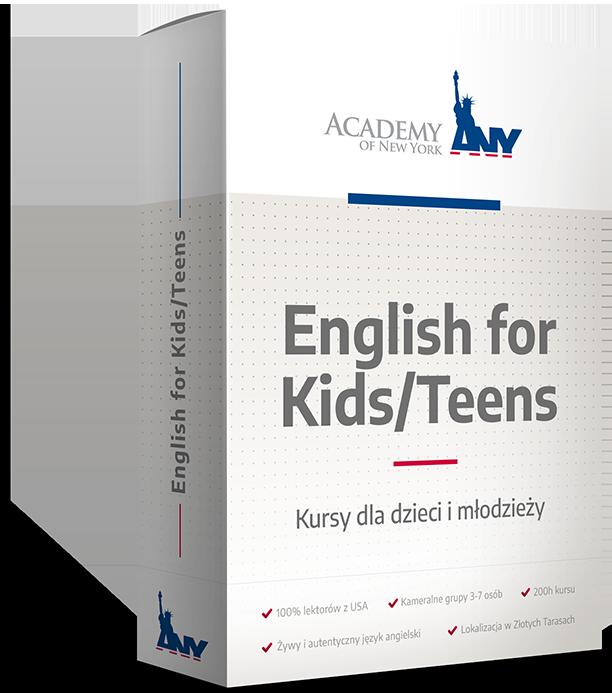 Kurs angielskiego dla dzieci i młodzieży