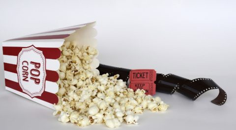 Film i popcorn