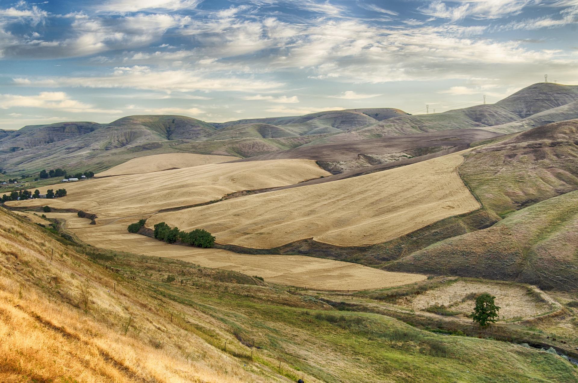 Krajobraz Idaho